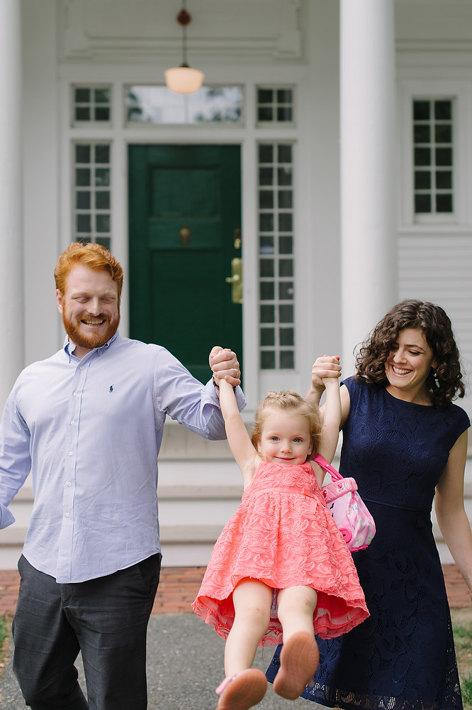 Wellesley College family wedding photo session 3