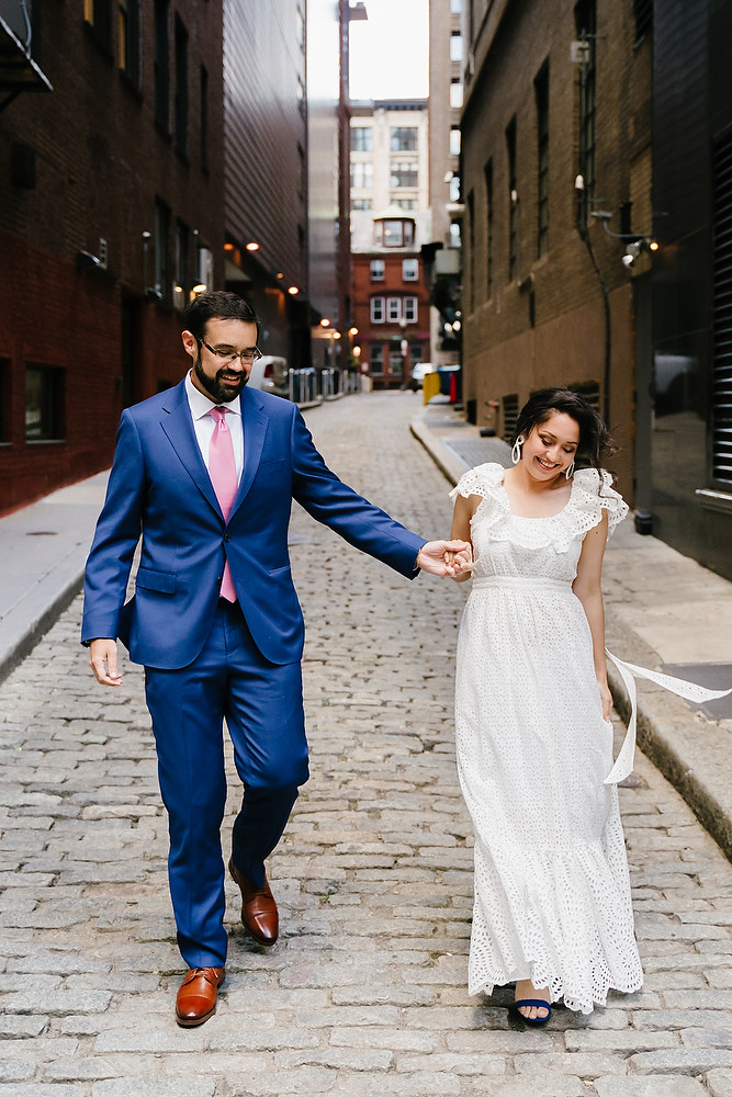 Boston Old South Meeting House wedding photo session 3