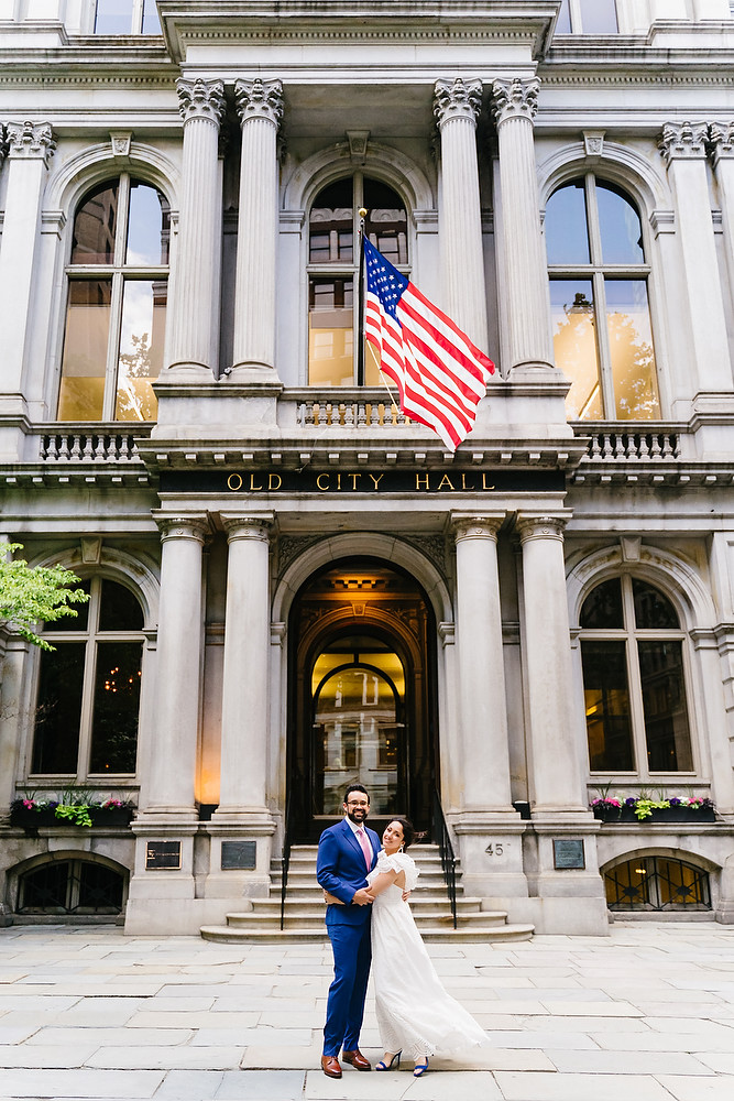 Boston Old South Meeting House wedding photo session 5