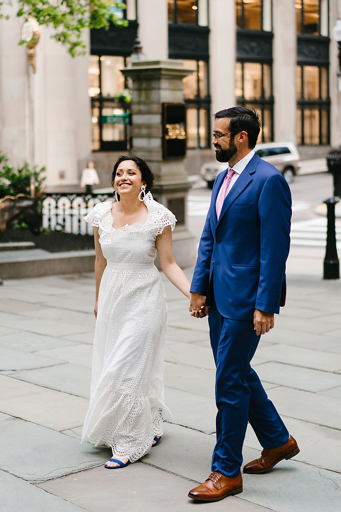 Boston Old South Meeting House wedding photo session 7