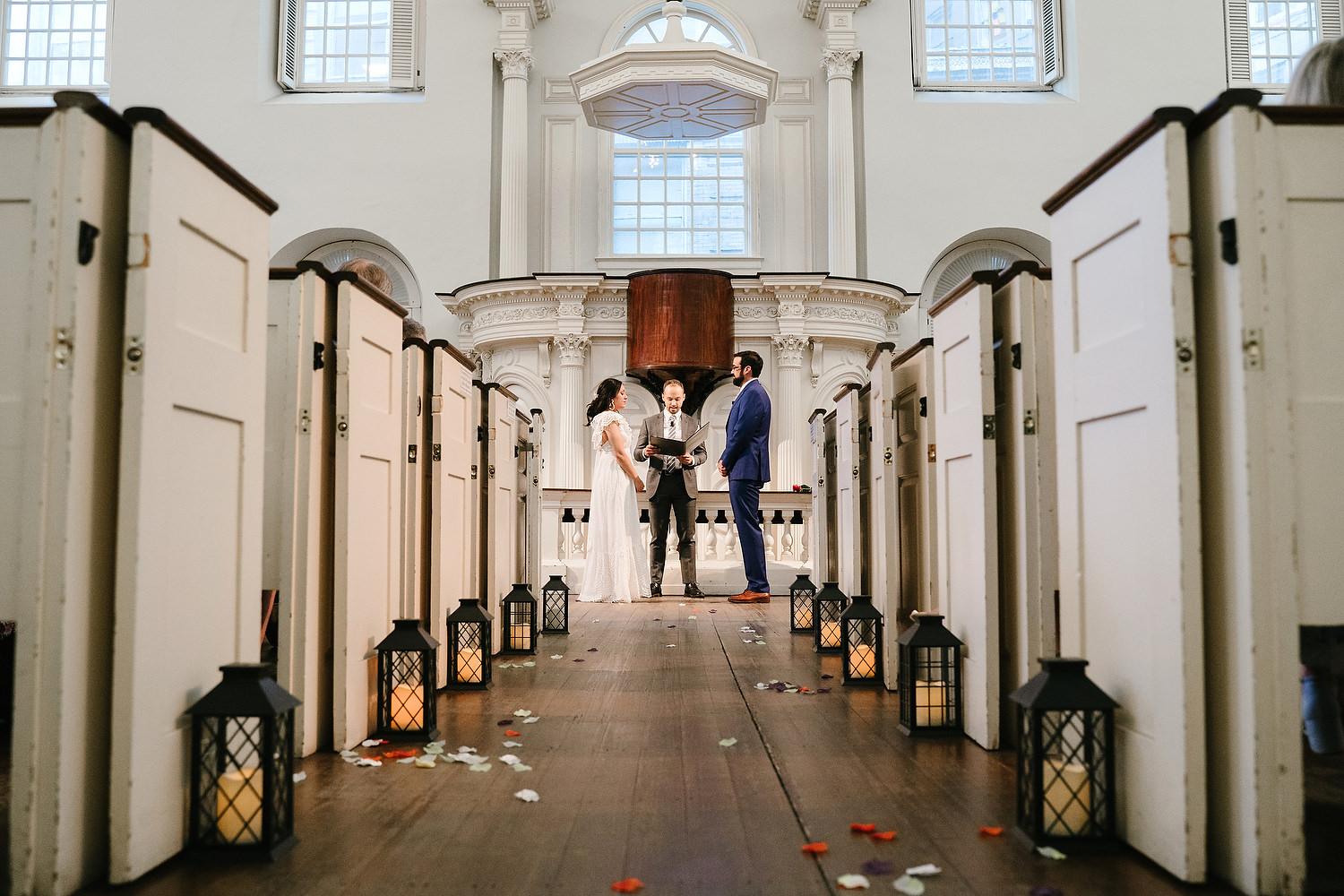 Boston Old South Meeting House wedding photo session 11