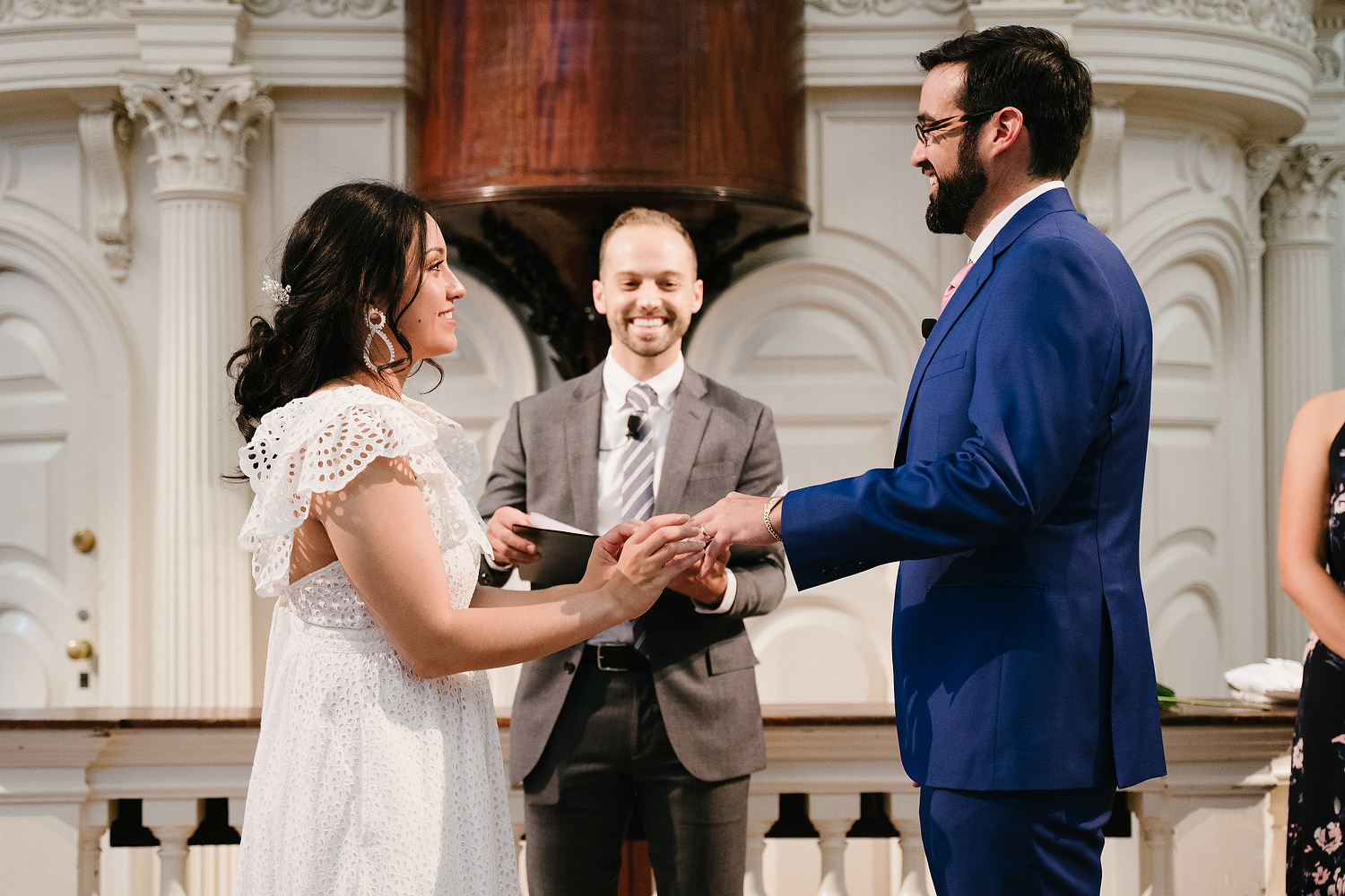 Boston Old South Meeting House wedding photo session 15