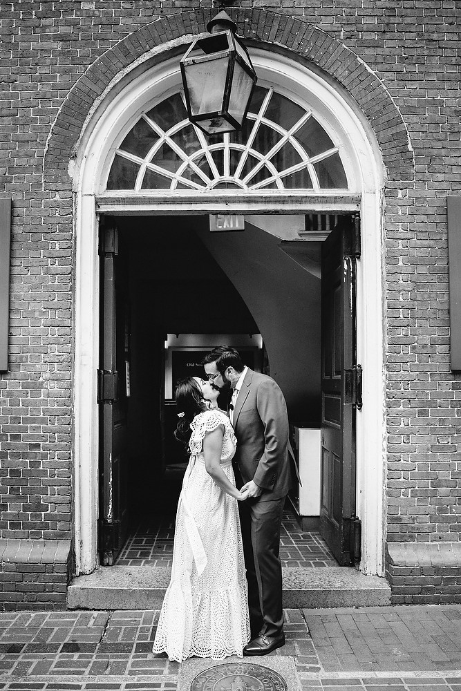Boston Old South Meeting House wedding photo session 19