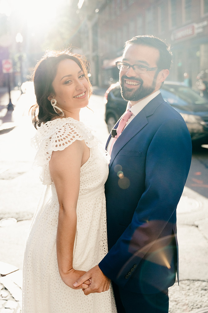 Boston Old South Meeting House wedding photo session 23