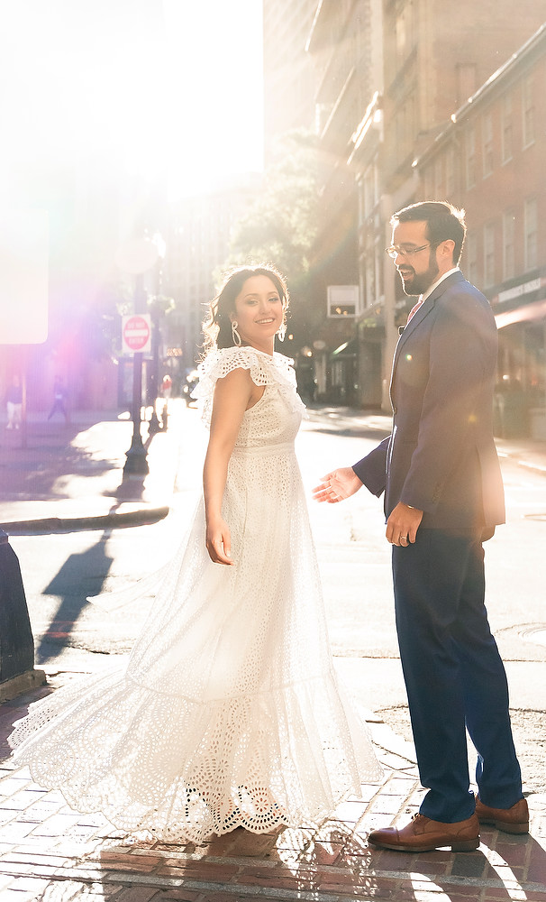 Boston Old South Meeting House wedding photo session 25