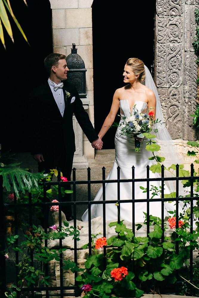 Beauport Hotel & Hammond Castle Museum wedding photo session 25