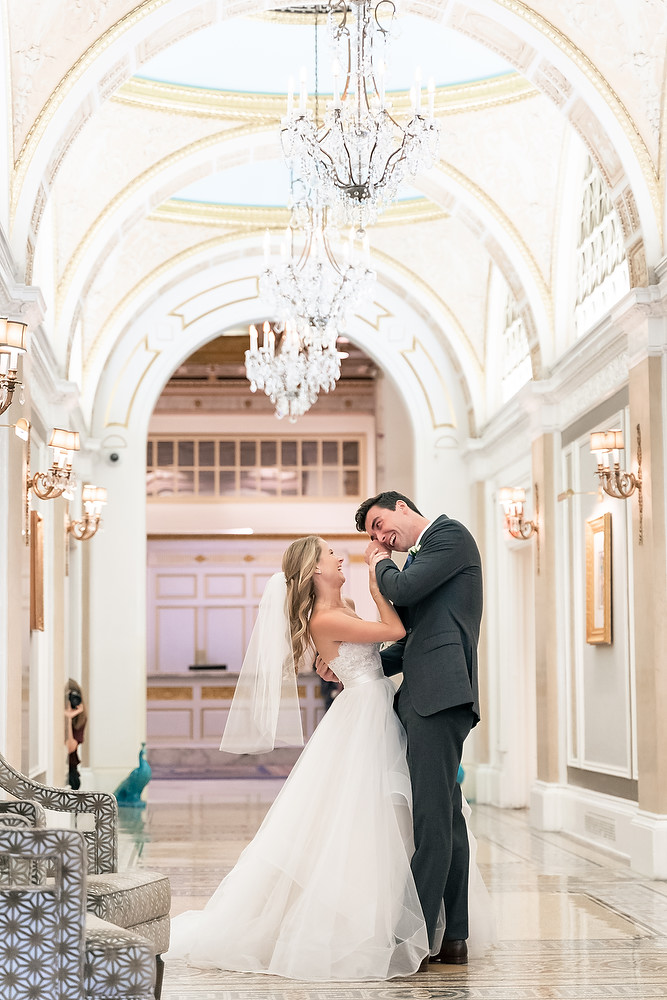 Boston Fairmont Copley Plaza Hotel wedding photo session 19
