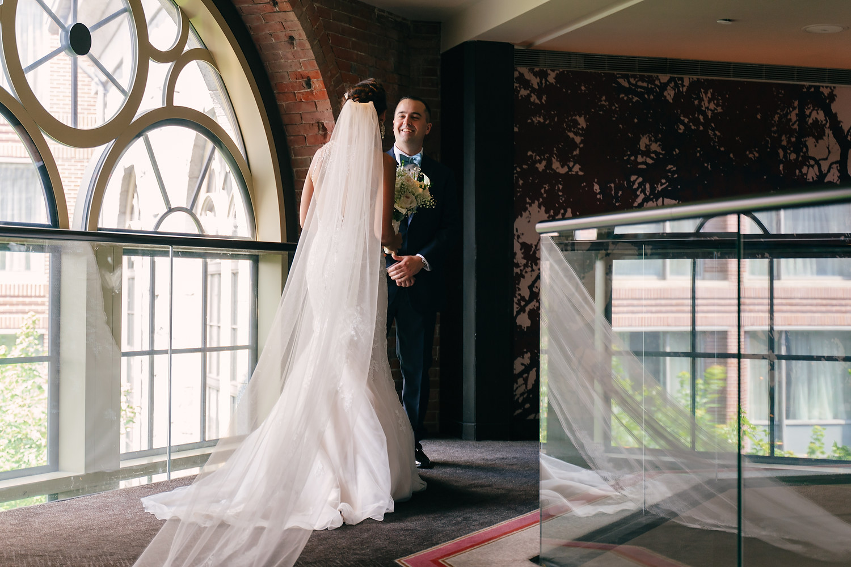 Liberty Hotel Boston wedding photo session 9