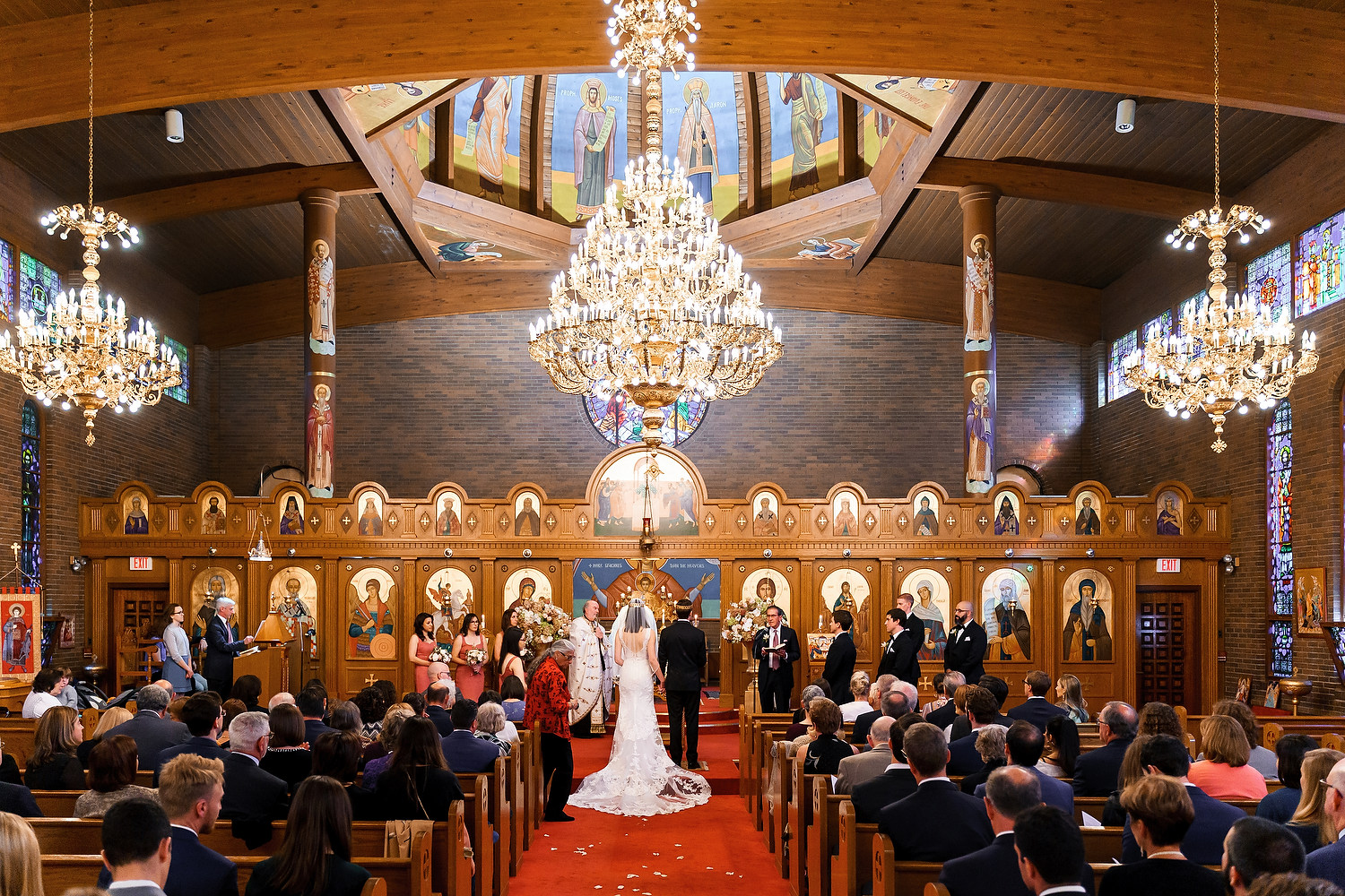 Boston St George Orthodox Church wedding photo session 60