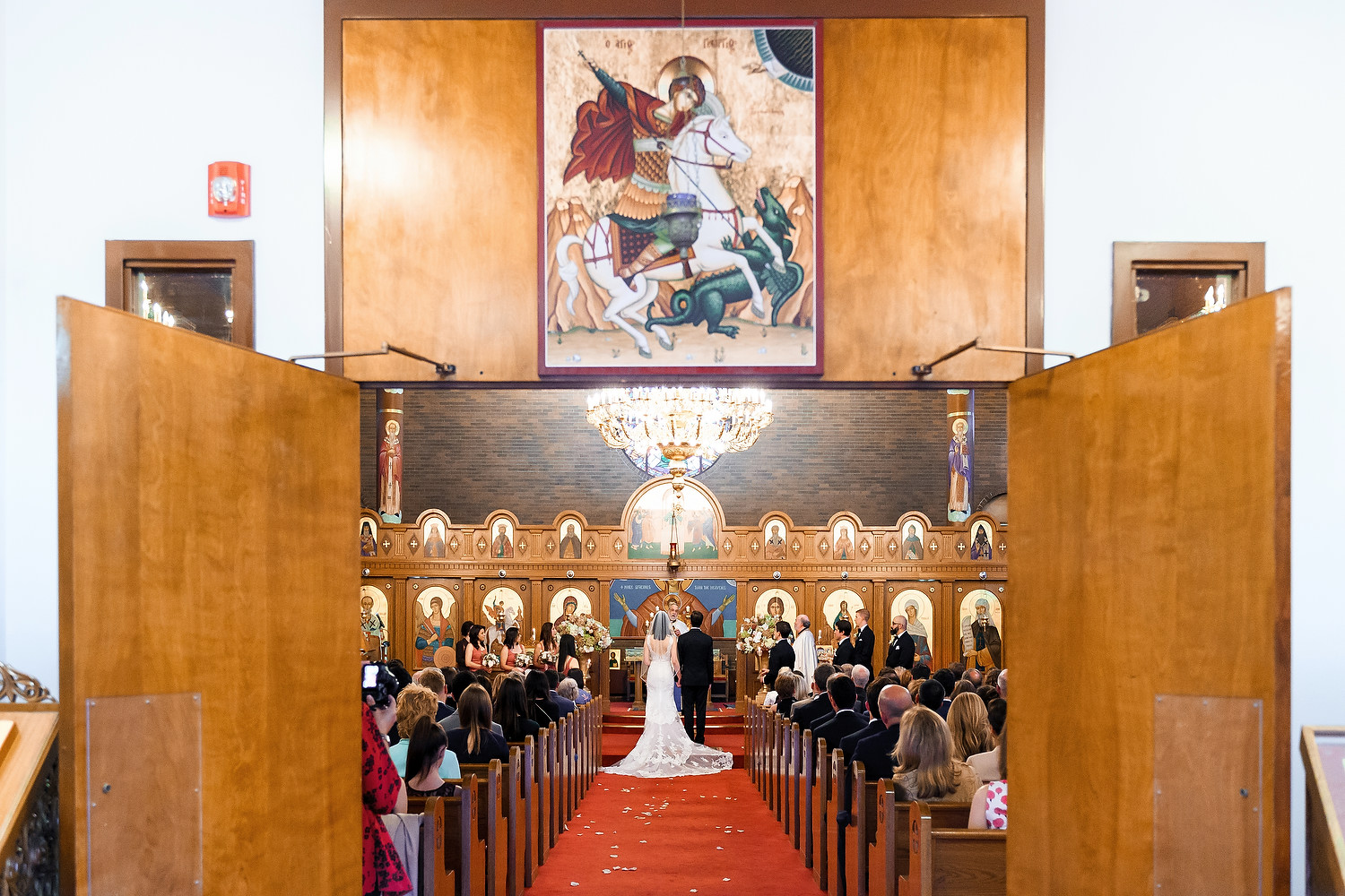 Boston St George Orthodox Church wedding photo session 65