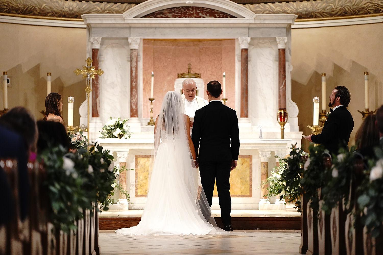 St. Leonard of Port Maurice Parish wedding photos