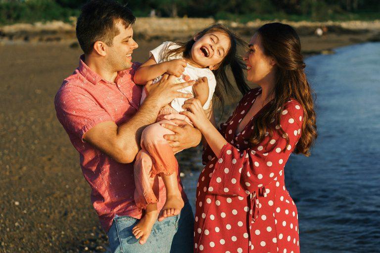 Town Neck Beach Family photos 11