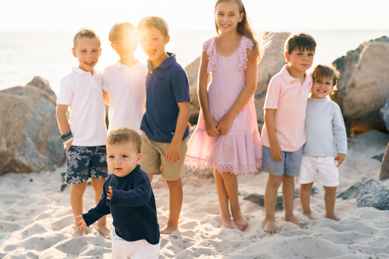 Chapin Memorial Beach Family Photos