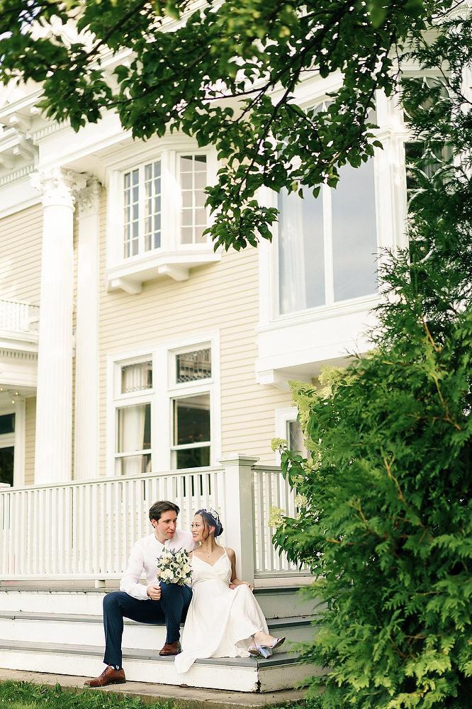endicott estate wedding photos
