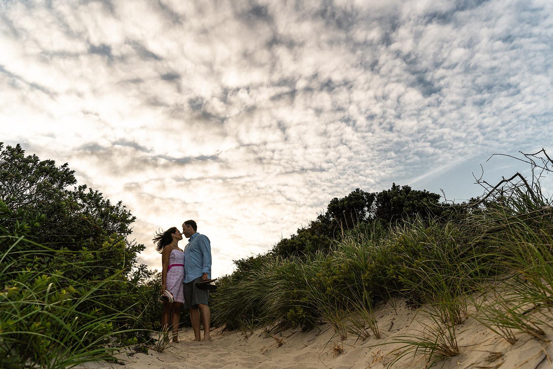 monomoy island engagement photos